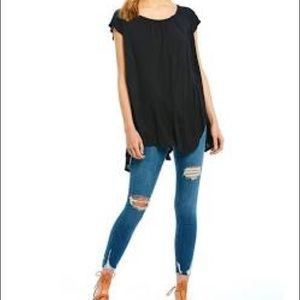 NWT Free People Casual Tee M